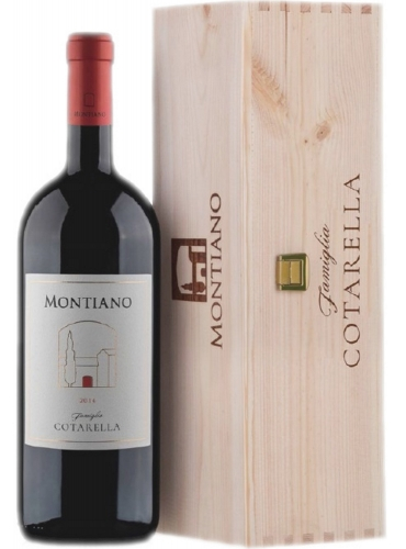 Montiano 2016 mathusalem in legno