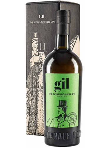 Gil authentic rural gin astucciato