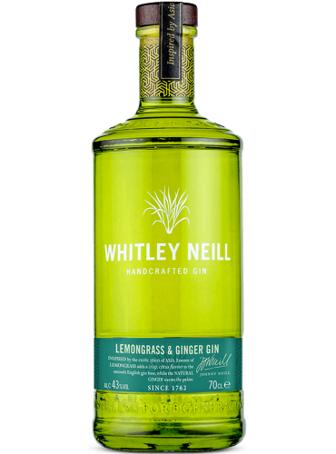 Whitley Neill lemongrass & ginger gin