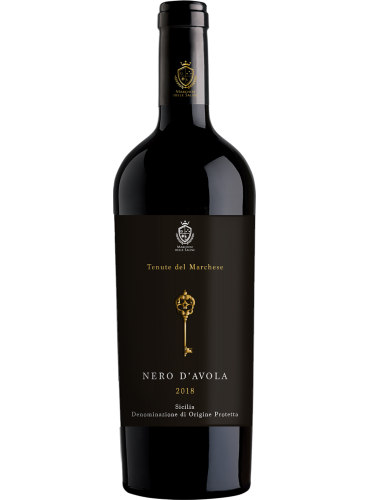 Nero d'avola Tenute del Marchese biologico 2018