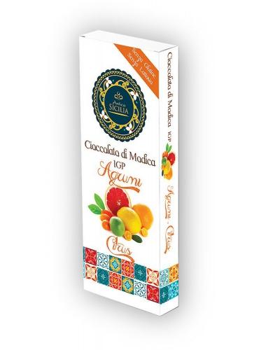 6 pz Cioccolato di Modica IGP gusto agrumi