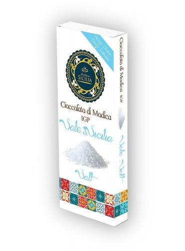 6 pz Cioccolato di Modica IGP gusto sale di Sicilia