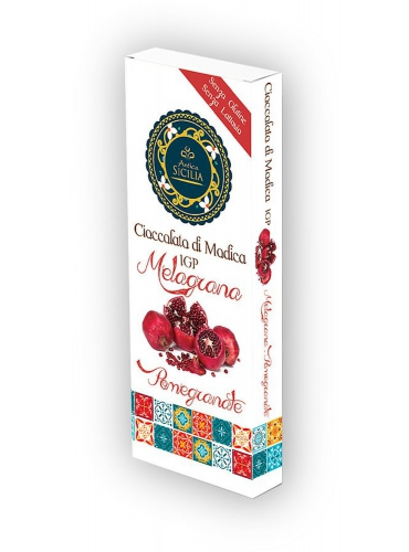 6 pz Cioccolato di Modica IGP gusto melagrana
