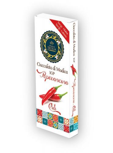 6 pz Cioccolato di Modica IGP gusto peperoncino