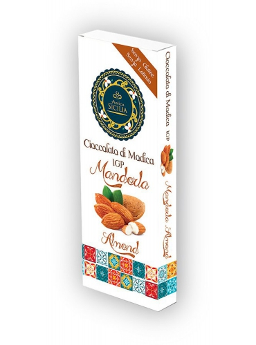 6 pz Cioccolato di Modica IGP con mandorla