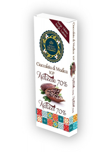 6 pz Cioccolato di Modica IGP naturale al 70%
