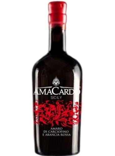 Amaro di carciofino selvatico e Arancia Rossa magnum
