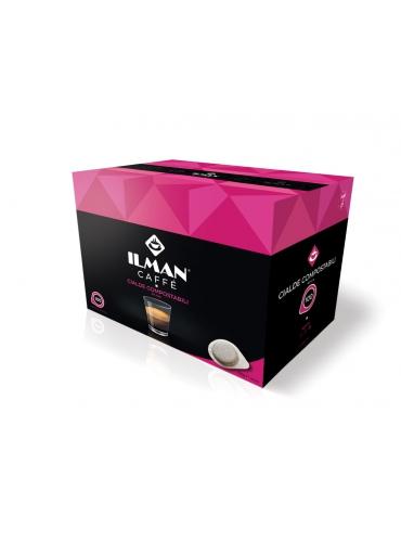 100 Cialde monodose 44 mm - ILMAN caffè