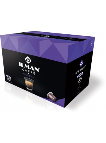 100 capsule Nespresso - ILMAN caffè