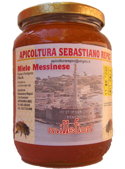 Miele Messinese millefiori 500 g