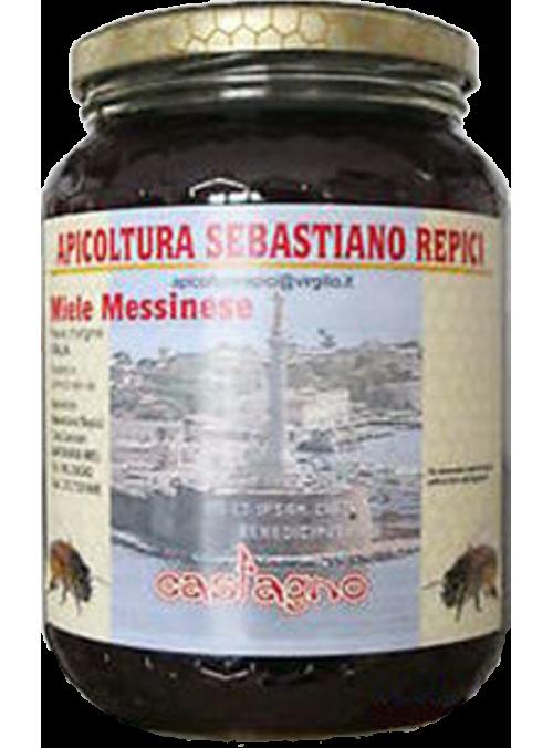 Miele Messinese di castagno 500 g