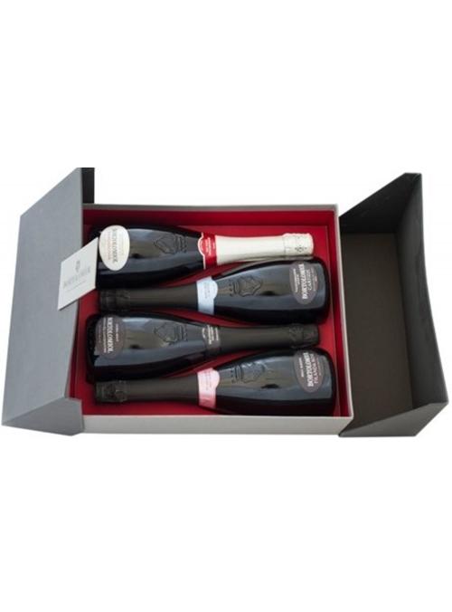 """""""Couture Millesimati Collection"""" cofanetto per 4 bottiglie"""